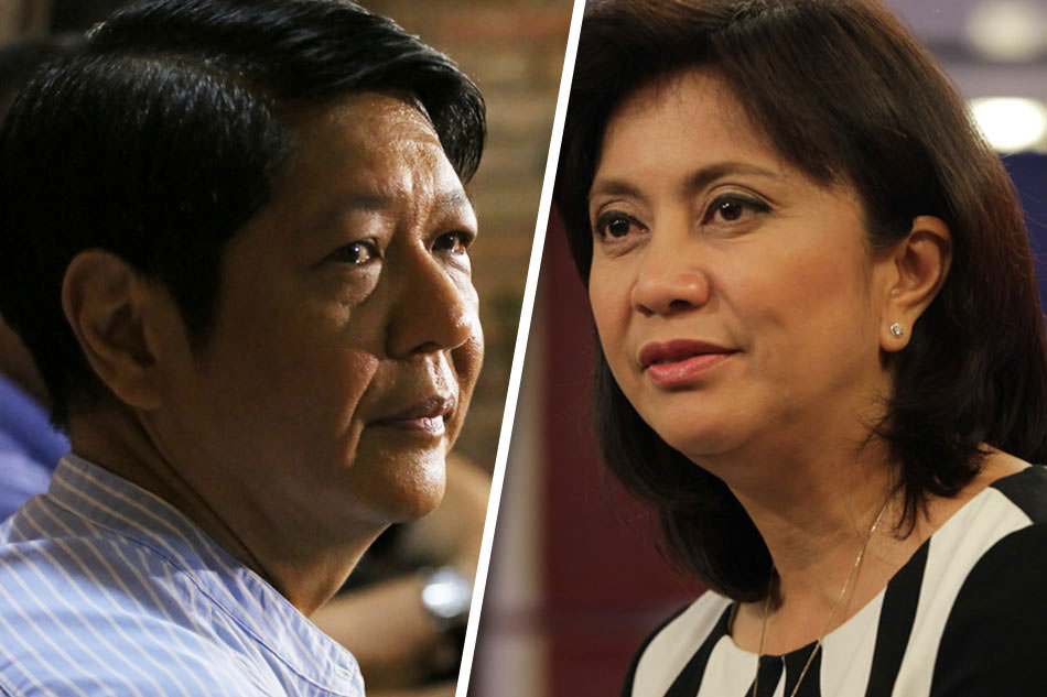 Image result for bongbong marcos and leni robredo