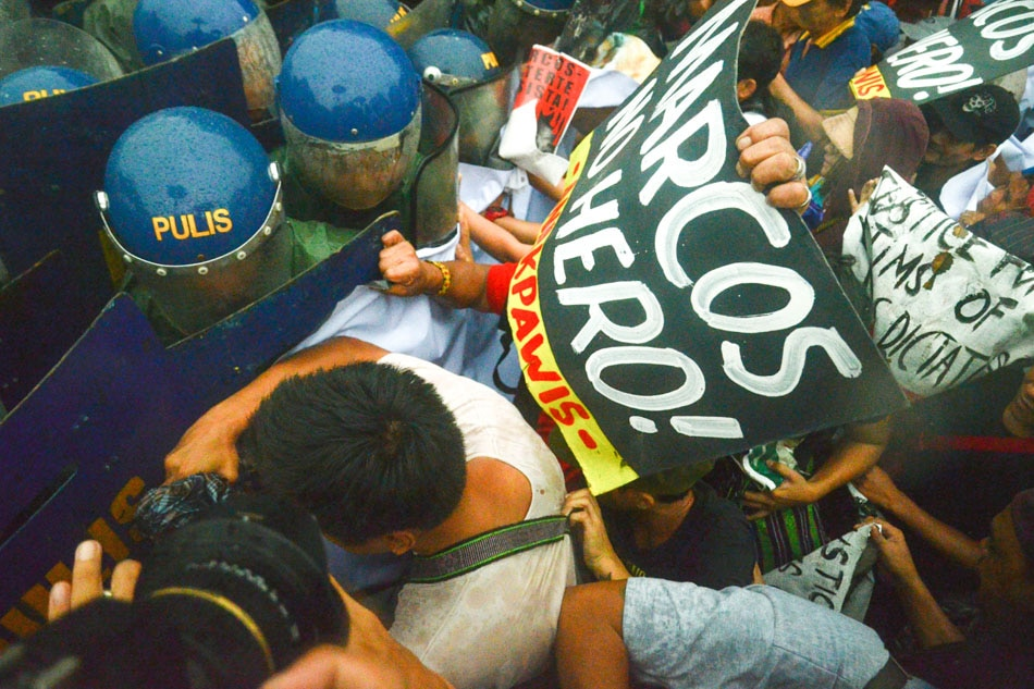 Marcos' 100th birthday met with protest
