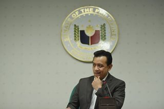 DOJ hands off on libel case vs Trillanes in Davao City