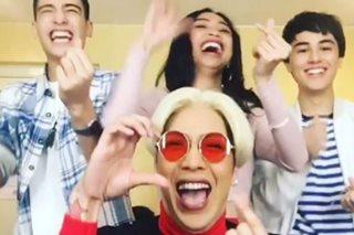 Vice at 'Loving In Tandem' stars, sumabak sa 'Heart Dance' challenge