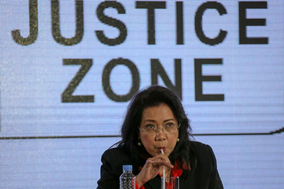 1st impeach complaint vs Sereno 'sufficient in form, substance'