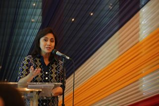 Robredo: Filipinos were a beacon of hope despite a challenging 2017