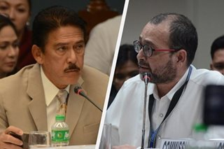 Sotto: If you can't support Duterte, resign