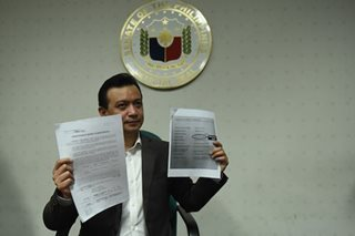 Dirty money watchdog receives Trillanes waiver on alleged deposits