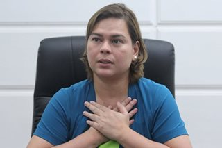 Sara Duterte denies having role in Bangsamoro appointments