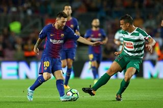 Messi hits four as Barca maintain perfect start