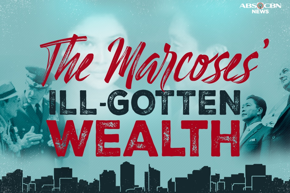 The Marcoses' ill-gotten wealth