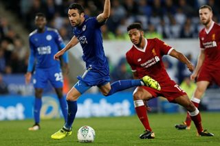 Liverpool knocked out of League Cup by Leicester