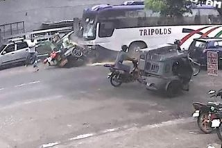 7 sugatan sa salpukan ng bus, tricycle sa Camarines Sur