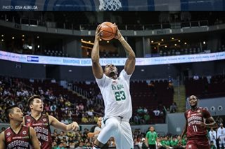 La Salle's Mbala praises UP for playing 'a very good game'