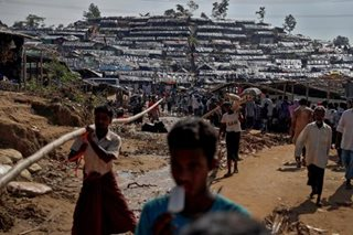 Rohingya refugees camp in Bangladesh