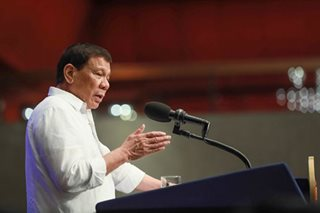 Duterte says to feed coins to government officials who extort from businessmen