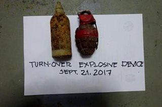 4 na lumang bomba nahukay sa La Union