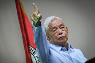 Nene Pimentel urges Duterte to meet senators amid doubts on draft charter