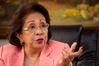 Press freedom in PH on the 'downslide', says ex-Ombudsman Morales