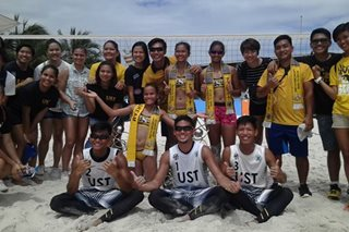 UST targets another golden double in UAAP beach volleyball