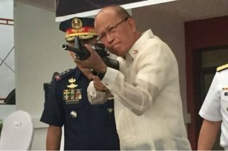 China turns over artillery, ammo to Philippines