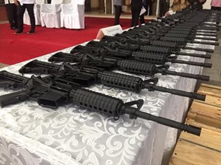 Military told to test China-donated firearms