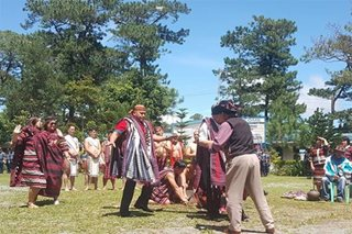 WATCH: 'Bato' does traditional dance in adoption as 'son of Cordillera'