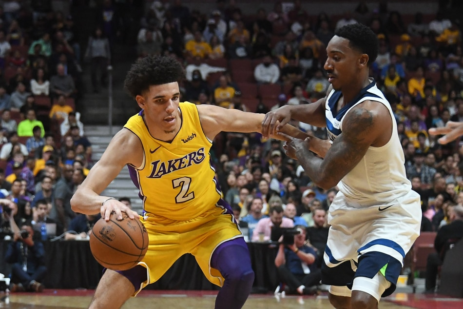 Lonzo Ball could miss rest of preseason