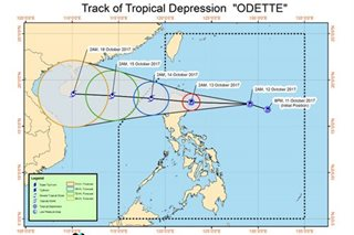 'Odette' barrels toward northern Luzon