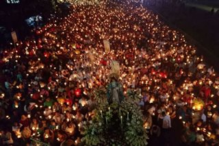 Marian procession draws 20,000 devotees in Cebu City