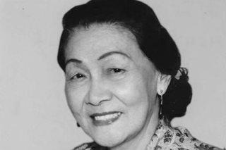 Former Education secretary Lourdes Quisumbing passes away