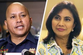Dela Rosa on Robredo joining drug raids: 'You should be at the forefront'