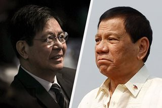 Lacson: Duterte left us heartbroken