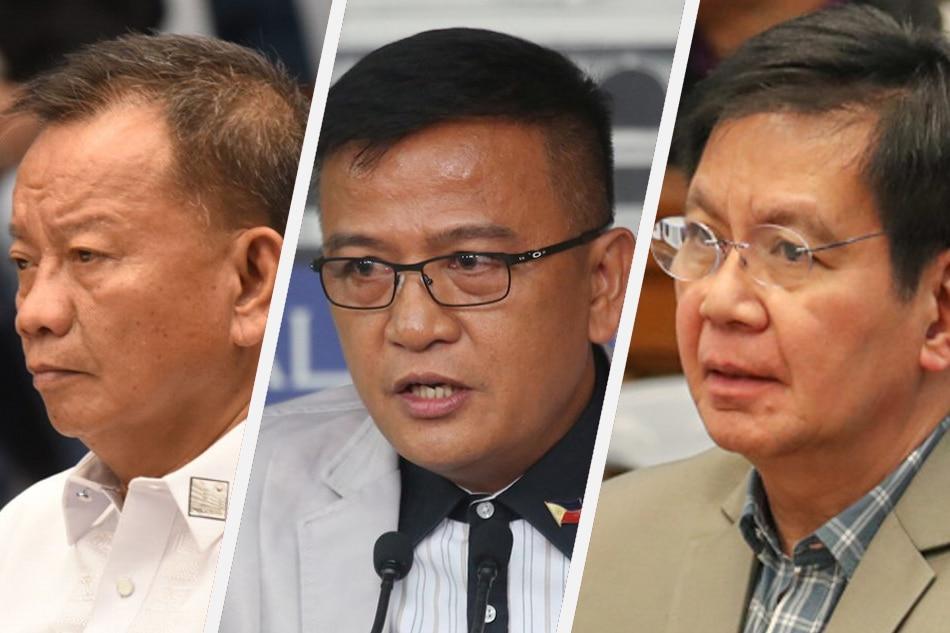 'Pasalubong' culture': Lapeña says Faeldon got P107-M welcome gift - Lacson