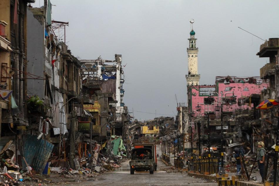 Pagbangon ng Marawi, sinisimulan na