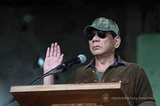 Duterte won't cower to alleged ISIS threat: Palace