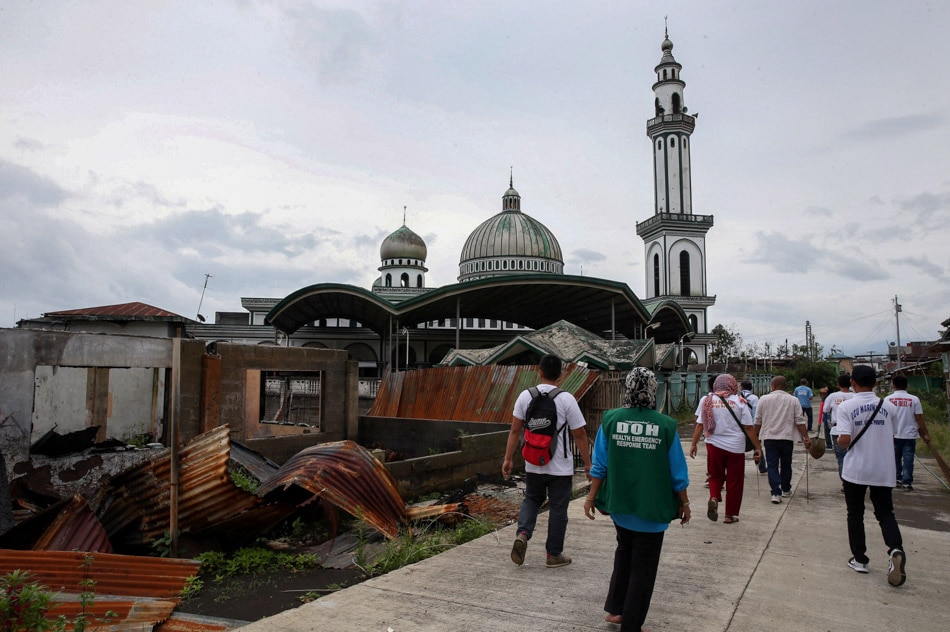 Clearing operation in Marawi