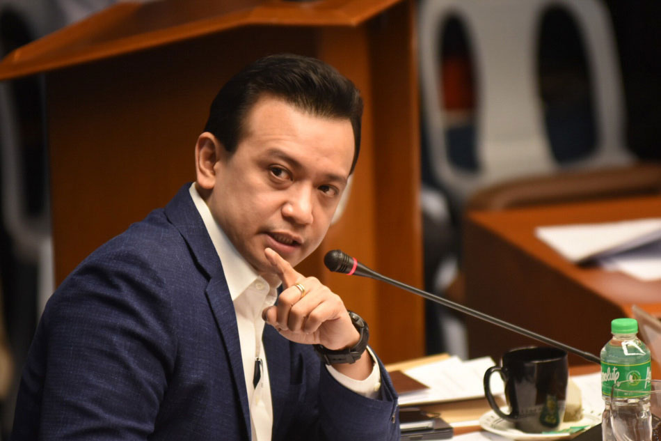 Trillanes: I gave only 'factual information' to United States  senator