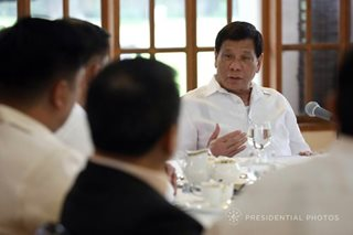 Duterte says he made the correct step in sea dispute with China