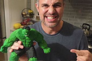 'The Hulk' Mark Ruffalo lauds Pinoy-made 'tsinelas' action figure