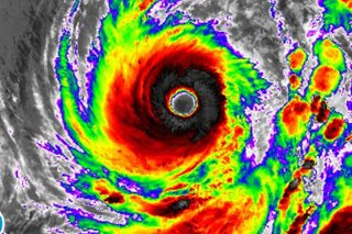 'Paolo' now a super typhoon, JTWC says