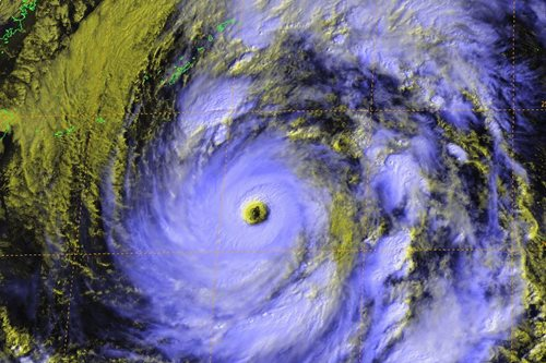 Japan braces for super typhoon ahead of election