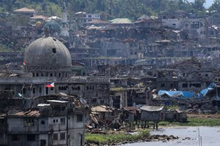 Leave Marawi rehab to tycoons? Gov't says no letup in city restoration