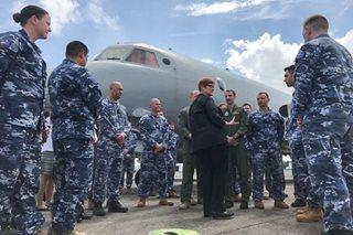 Australian defense chief visits Clark