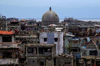 Gov't sets sights on rebuilding Marawi as siege ends