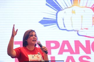 Sara Duterte eyes House seat in next elections