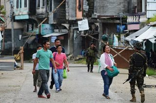 Residents return to Marawi