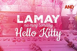 Lamay na may temang Hello Kitty