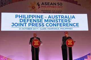 Philippines, Australia agree on measures to boost military cooperation