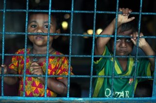 Pope deplores plight of Rohingya children