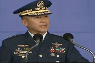 Philippine Air Force welcomes new chief