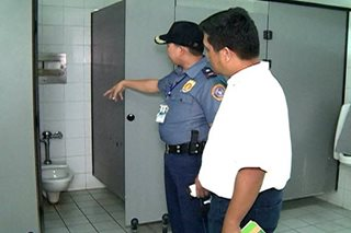 Drug paraphernalia found in Davao airport toilet