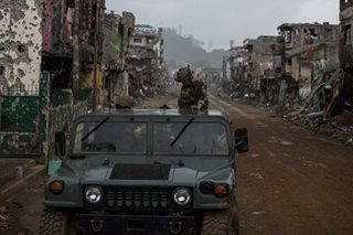No total withdrawal of troops in Marawi, says AFP
