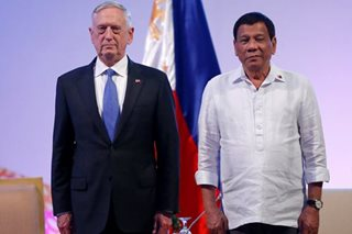 Philippine troops upheld rights in Marawi battle, US defense chief says